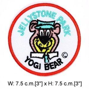 Accessories - Yogi Bear patch iron on retro cartoon jellystone